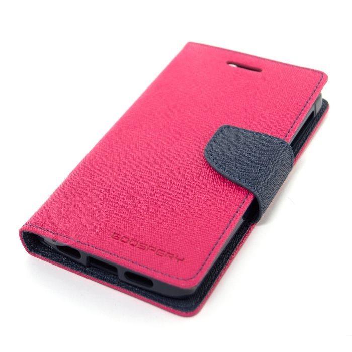 Diárové puzdro Fancy pre Microsoft Lumia 550, Pink