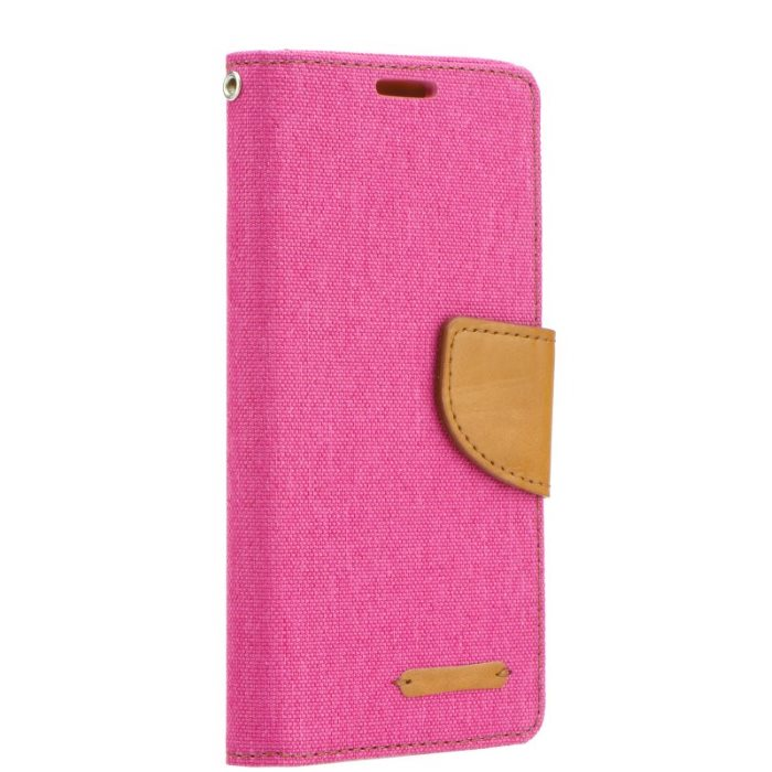 Diárové puzdro Mercury Canvas pre Huawei P9 Lite, Pink