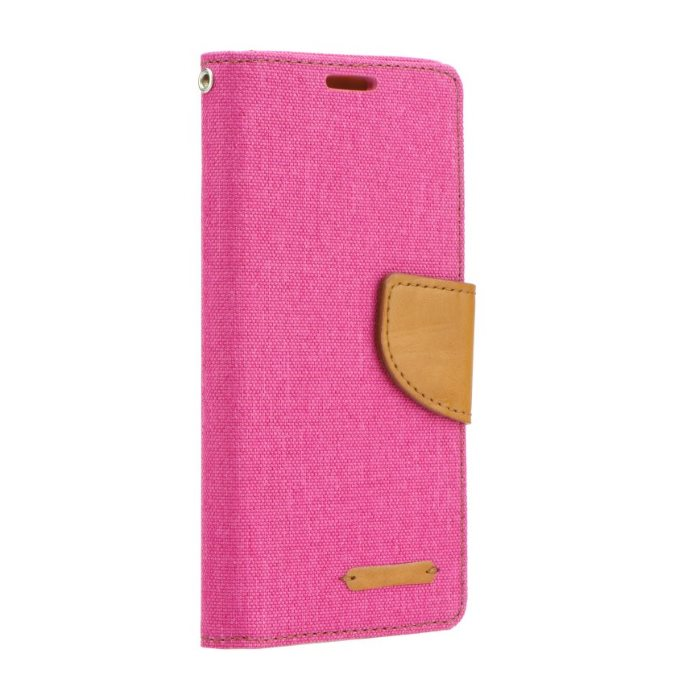 Diárové puzdro Mercury Canvas pre Samsung Galaxy J1 (2016) - J120F, Pink