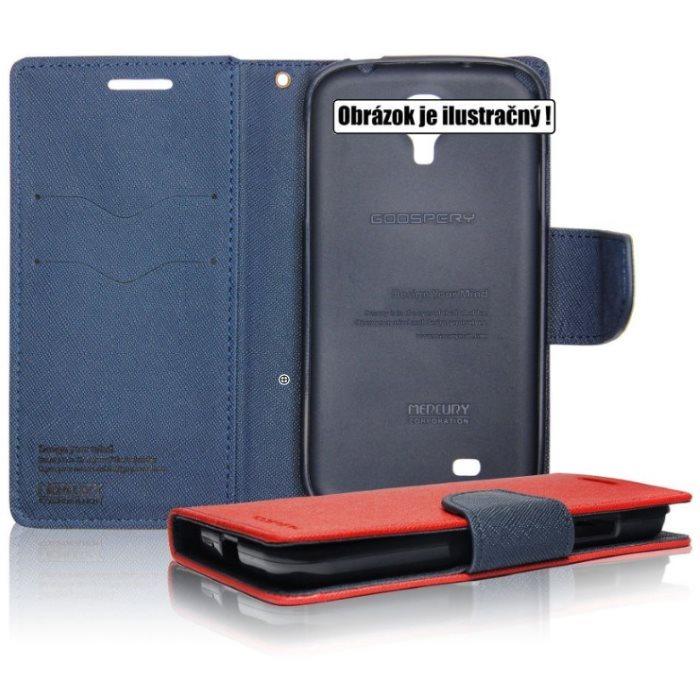 Diárové puzdro Mercury pre LG K10 - K420n, RedBlue