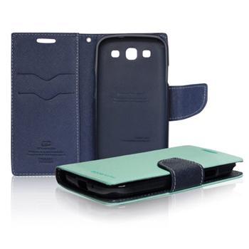 Diárové puzdro Mercury pre Samsung Galaxy J5 - J500 a J5 Dual, MintBlue