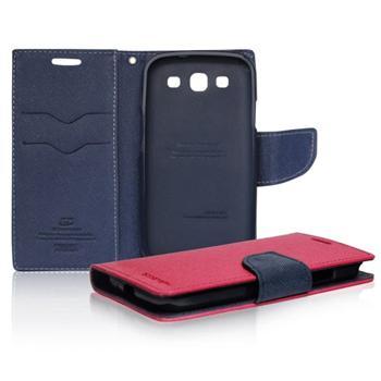 Diárové puzdro Mercury pre Samsung Galaxy J5 - J500 a J5 Dual, PinkBlue