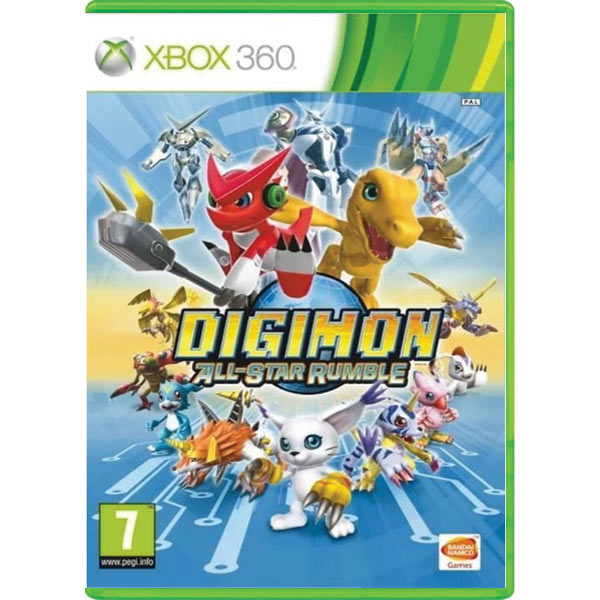 Digimon All-Star Rumle
