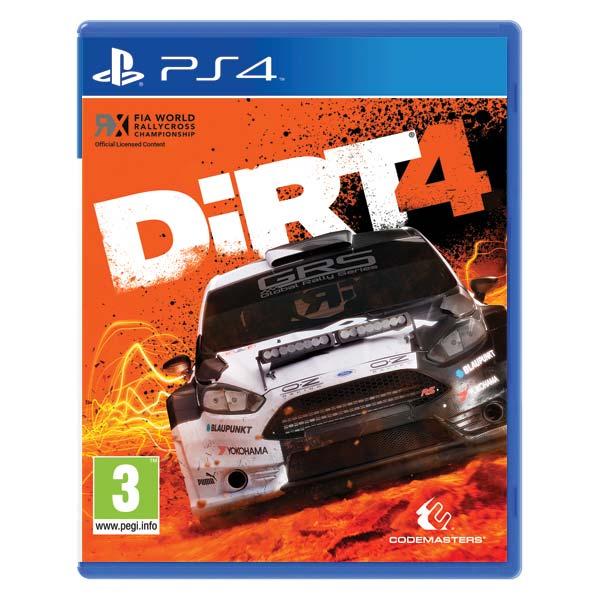DiRT 4 [PS4] - BAZÁR (použitý tovar)