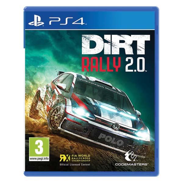 DiRT Rally 2.0 [PS4] - BAZÁR (použitý tovar)
