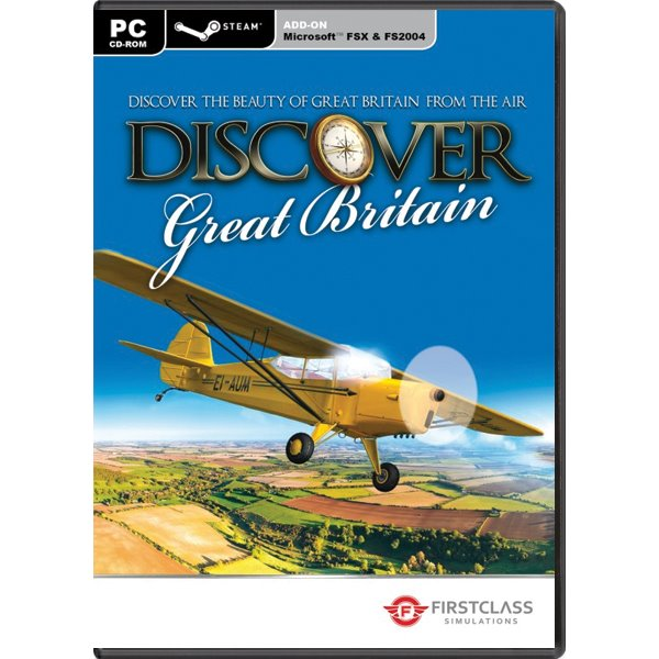 Discover Great Britain (Microsoft Flight Simulator X Steam Edition Add-On)