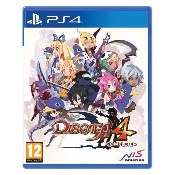 Disgaea 4 Complete+ (A Promise of Sardines Edition) PS4