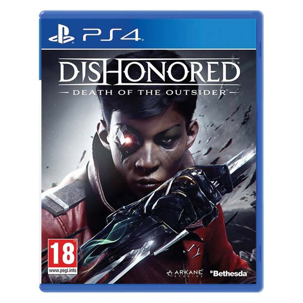 Dishonored: Death of the Outsider [PS4] - BAZÁR (použitý tovar)