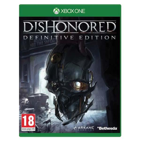 Dishonored (Definitive Edition) [XBOX ONE] - BAZÁR (použitý tovar)