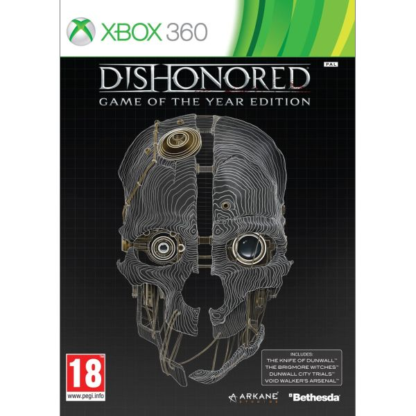 Dishonored (Game of the Year Edition) [XBOX 360] - BAZ�R (pou�it� tovar)