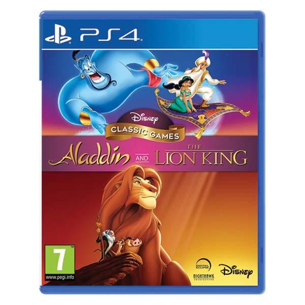 Disney Classic Games: Aladdin and The Lion King [PS4] - BAZÁR (použitý tovar)