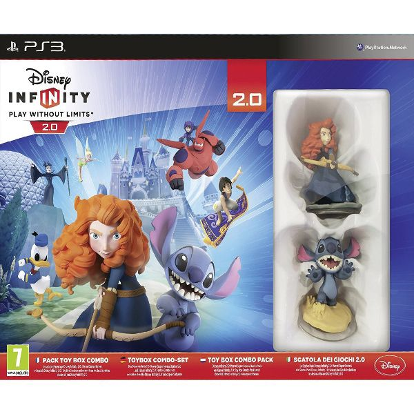 Disney Infinity 2.0: Disney Originals (Toy Box Combo Pack)