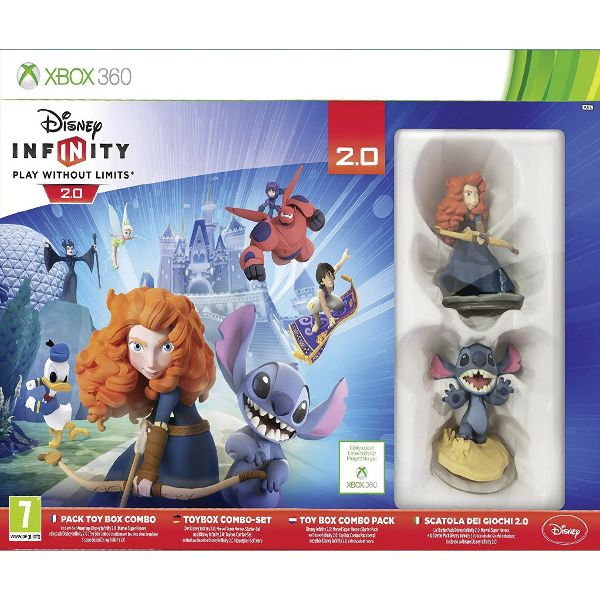 Disney Infinity 2.0: Disney Originals (Toy Box Combo Pack) XBOX 360