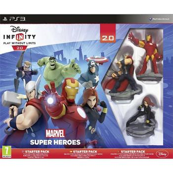 Disney Infinity 2.0: Marvel Super Heroes (Starter Pack) [PS3] - BAZ�R (pou�it� tovar)