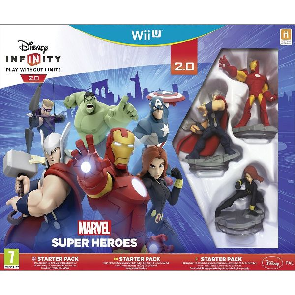 Disney Infinity 2.0: Marvel Super Heroes (Starter Pack)