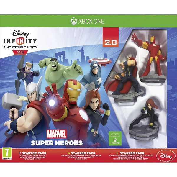 Disney Infinity 2.0: Marvel Super Heroes (Starter Pack) XBOX ONE
