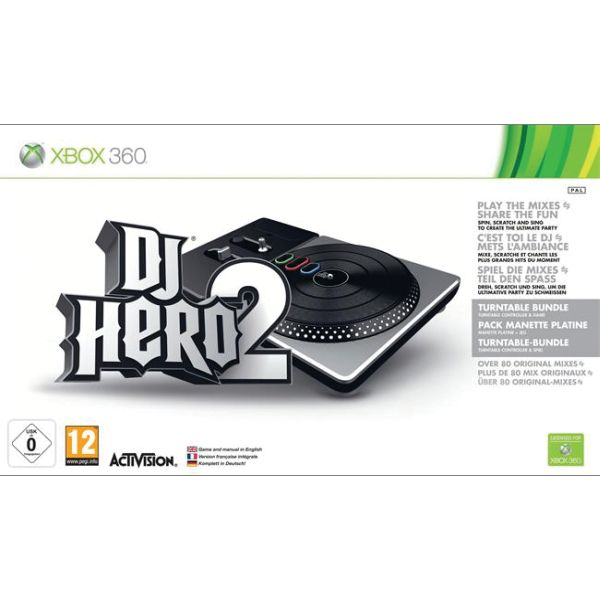 DJ Hero 2 (Turntable Bundle) XBOX 360