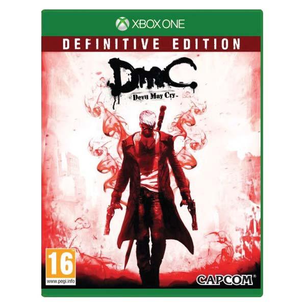 DmC: Devil May Cry (Definitive Edition) [XBOX ONE] - BAZÁR (použitý tovar)