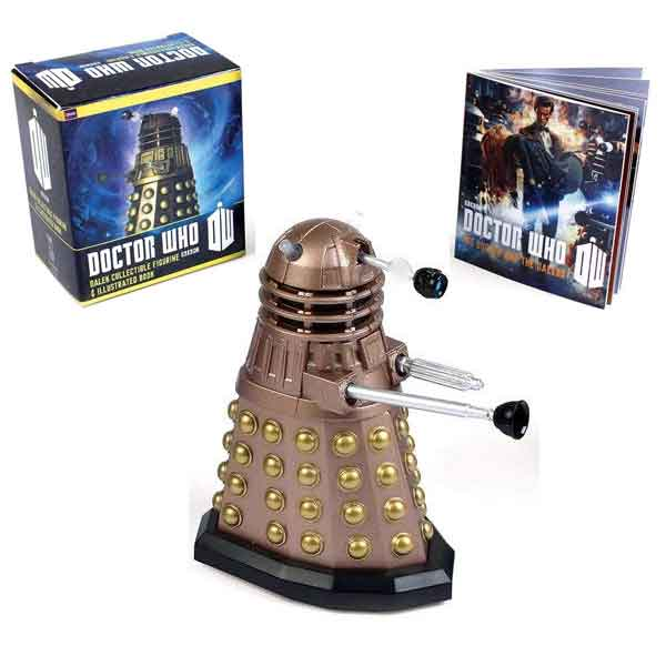 Doctor Who: Dalek and Illustrated Book (Miniature Editions)