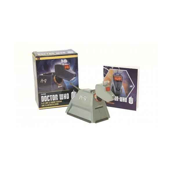 Doctor Who: K-9 Light-and-Sound Figurine and Illustrated Book (Miniature Editions)