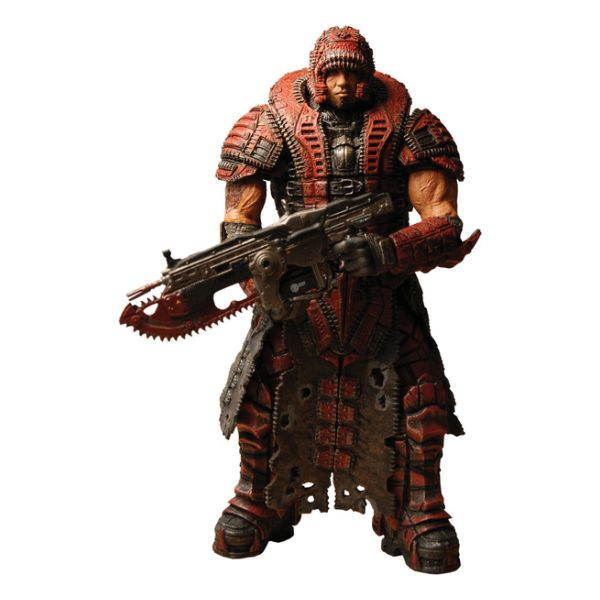 Dominic Santiago in Theron Disguise (Gears of War 2)