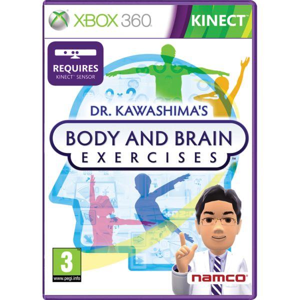 Dr. Kawashima's: Body and Brain Exercises- XBOX 360- BAZÁR (použitý tovar)