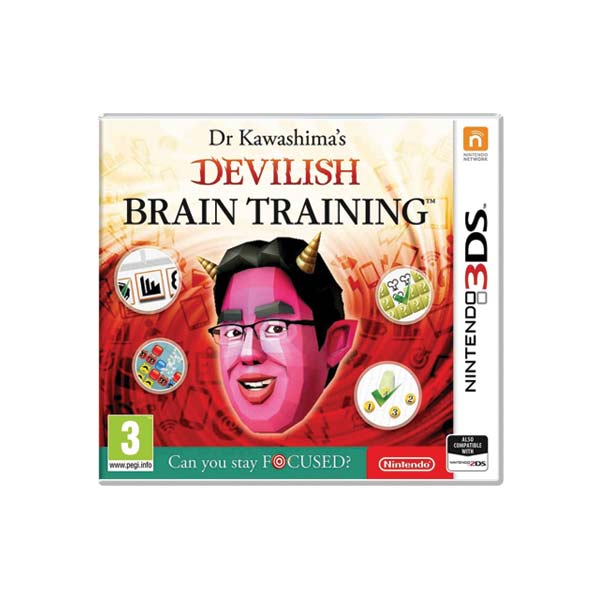 Dr Kawashima´s Devilish Brain Training: Can you stay focused?