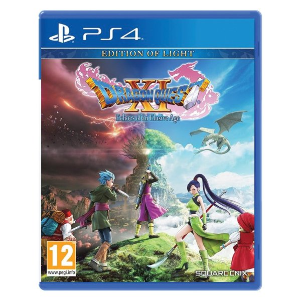 Dragon Quest 11: Echoes of an Elusive Age (Edition of Light) [PS4] - BAZÁR (použitý tovar)