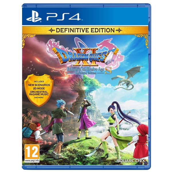 Dragon Quest 11 S: Echoes of an Elusive Age (Definitive Edition) PS4