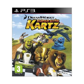 DreamWorks Super Star Kartz [PS3] - BAZÁR (použitý tovar)