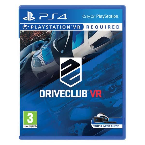 DRIVECLUB VR [PS4] - BAZÁR (použitý tovar)