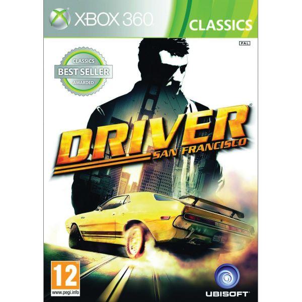 Driver: San Francisco - XBOX 360- BAZÁR (použitý tovar)