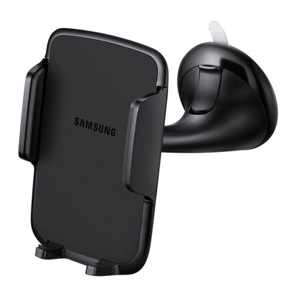 Držiak do auta (na čelné sklo) univerzálny Samsung EE-V100TA pre GoClever Quantum 700N Lite, Black