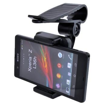 Držiak do auta na slnečnú clonu pre Microsoft Lumia 950 XL