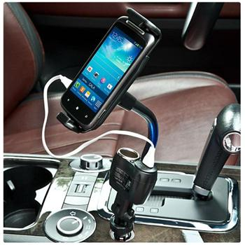 Držiak do auta Roxa do zapaľovača pre Alcatel OneTouch 7044X Pop 2 (5) Premium