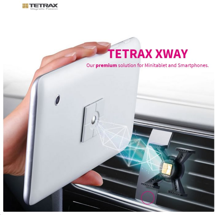 Držiak do auta Tetrax XWay pre GoClever Quantum 400 Lite