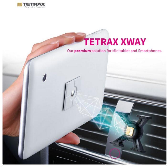 Držiak do auta Tetrax XWay pre Prestigio Multiphone 5500DUO, Prestigio Multiphone 5505DUO