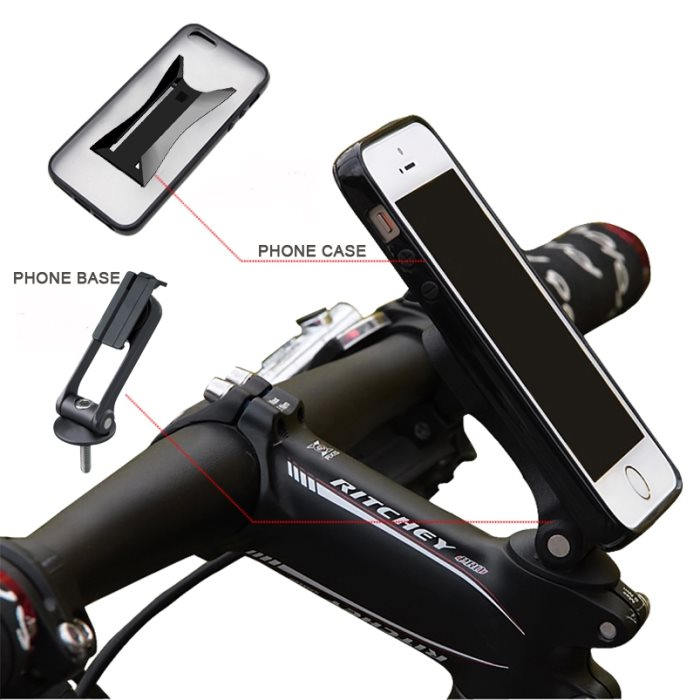Držiak na bicykel BestMount Premium pre Lenovo Moto X Play - XT1562, Motorola Moto X Play - XT1562