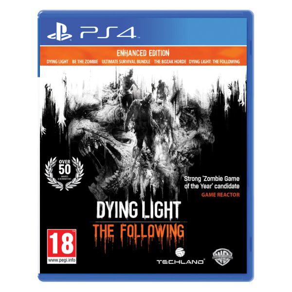 Dying Light: The Following (Enhanced Edition) [PS4] - BAZÁR (použitý tovar)