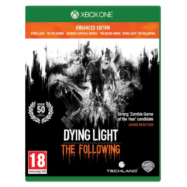 Dying Light: The Following (Enhanced Edition) [XBOX ONE] - BAZÁR (použitý tovar)