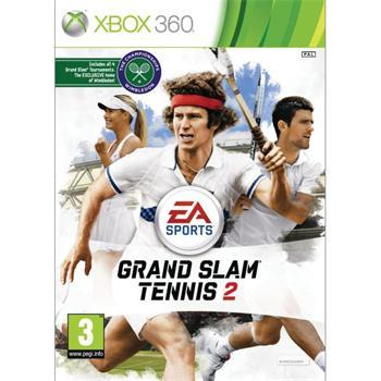 EA Sports Grand Slam Tennis 2 - XBOX 360- BAZÁR (použitý tovar)
