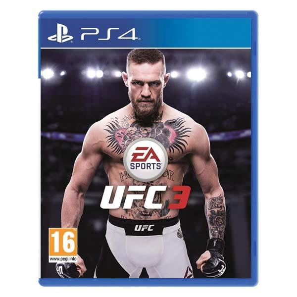 EA Sports UFC 3 [PS4] - BAZÁR (použitý tovar)