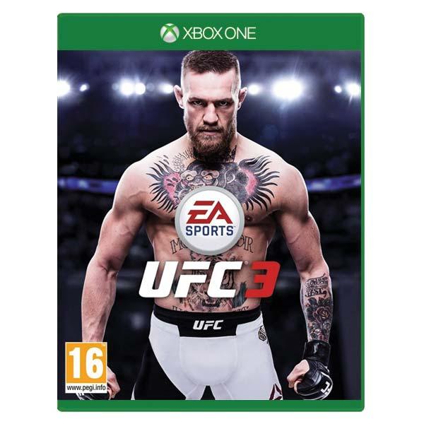 EA Sports UFC 3 [XBOX ONE] - BAZÁR (použitý tovar)