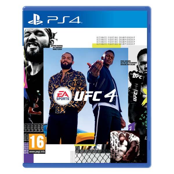 EA Sports UFC 4 [PS4] - BAZÁR (použitý tovar)