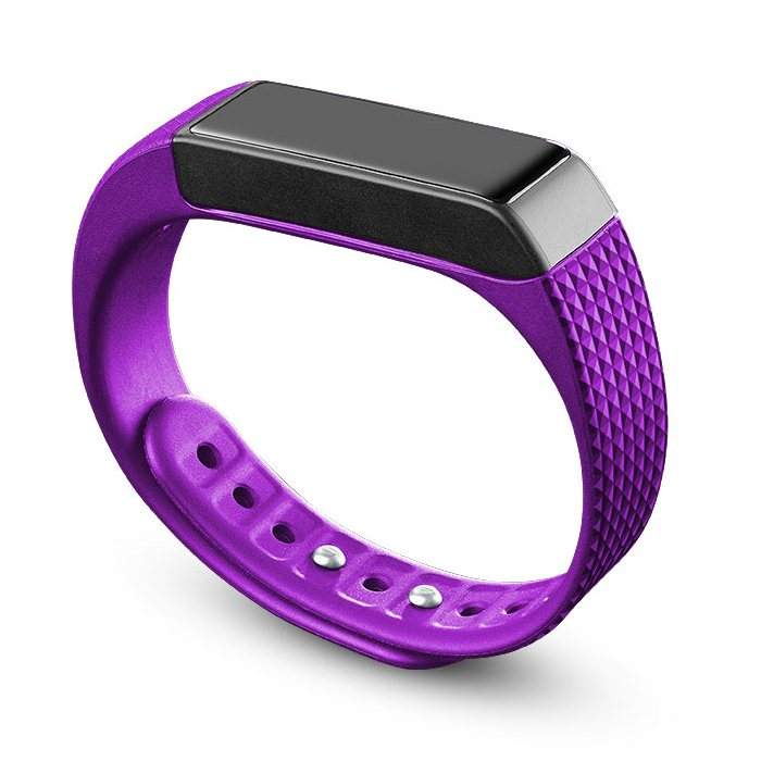 EASYFIT TOUCH, fitness náramok s dotykovým displejom, PurpleBlack