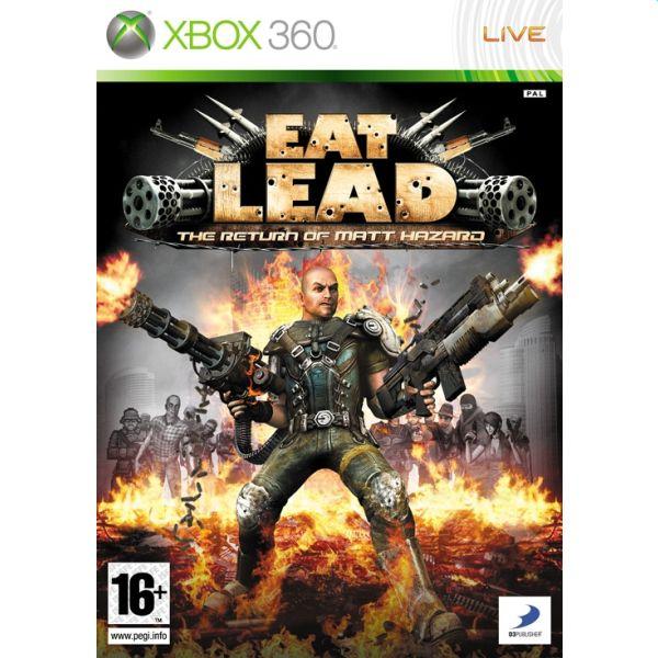 Eat Lead: The Return of Matt Hazard [XBOX 360] - BAZÁR (použitý tovar)