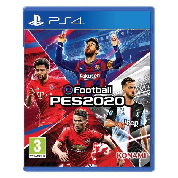 eFootball: PES 2020 [PS4] - BAZÁR (použitý tovar)