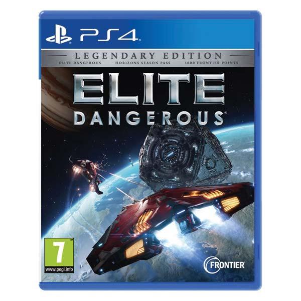 Elite Dangerous (Legendary Edition) [PS4] - BAZÁR (použitý tovar)