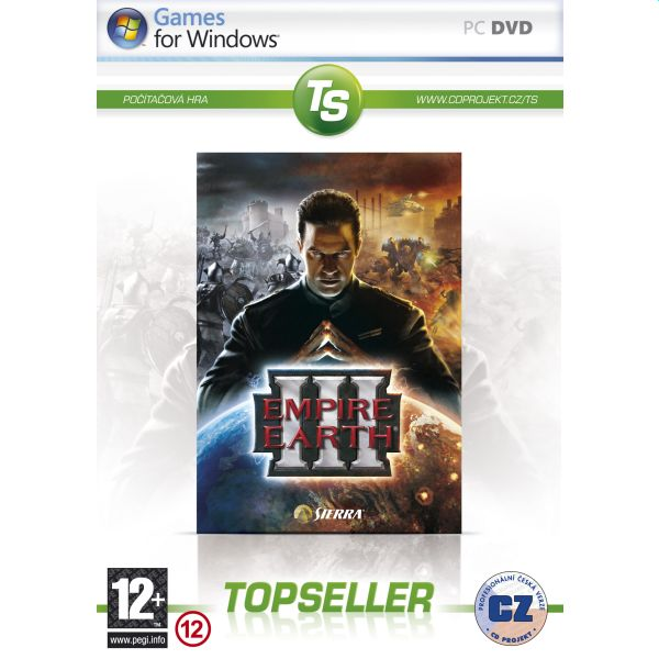 Empire Earth 3 CZ (TopSeller)