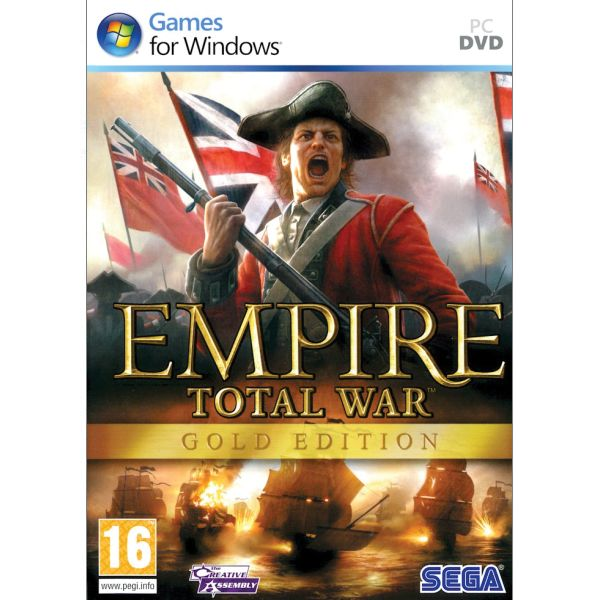 Empire: Total War CZ (Gold Edition)